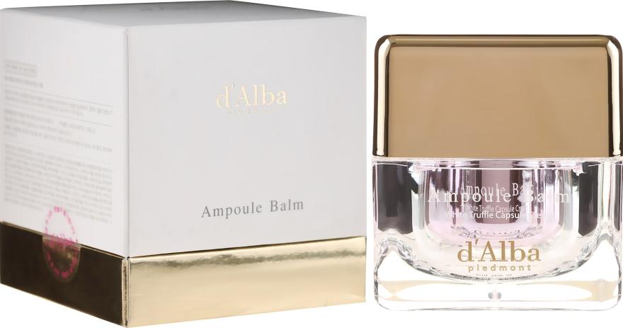 Nawilżający krem do twarzy z ekstraktem z białej trufli - D'Alba Ampoule Balm White Truffle Whitening Cream — фото N1