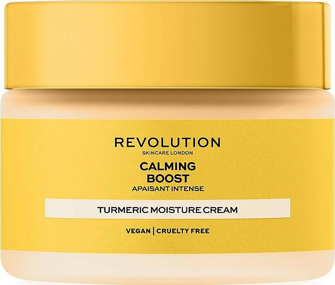 Krem do twarzy z kurkumą - Revolution Skincare Boost Calming Turmeric — фото N1