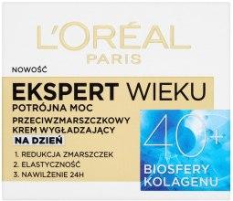 Kup Przeciwzmarszczkowy krem wygładzający do twarzy na dzień 40+ - L'Oreal Paris Age Specialist Expert Day Cream