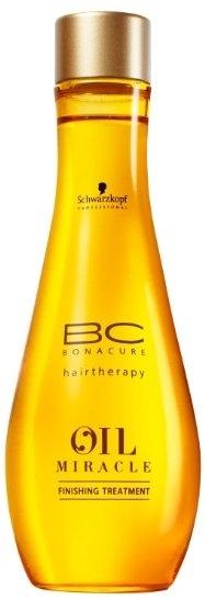 Olejek do włosów normalnych i przetłuszczających się - Schwarzkopf Professional BC Bonacure Oil Miracle Finishing Treatment — фото N4