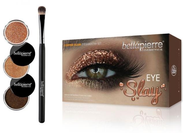 Zestaw do makijażu oczu - Bellapierre Eye Slay Kit Copper Glam — фото N1
