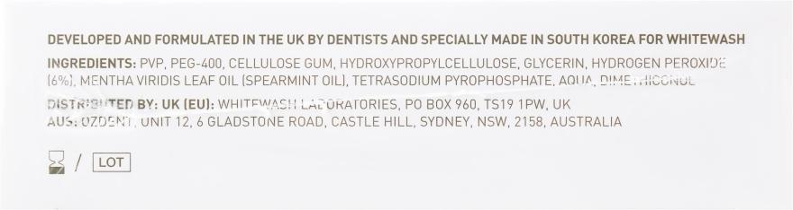 Profesjonalne wybielające paski do zębów - WhiteWash Laboratories Professional Whitening Strips — фото N2