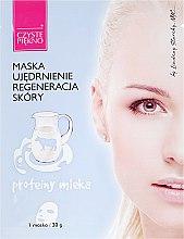 Kup Maseczka z proteinami mleka Ujędrnienie i regeneracja skóry - Czyste Piekno Face Mask