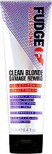 Kup Odżywka do włosów blond przeciw niechcianemu żółtemu odcieniowi - Fudge Professional Clean Blonde Damage Rewind Violet-Toning Conditioner