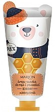 Kup Ochronny krem-maska do rąk i paznokci Miodowy piernik - Marion Funny Animals Hand Cream Mask