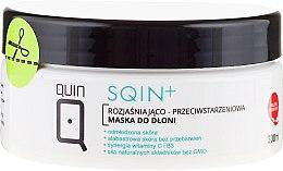 Kup Rozjaśniająco-przeciwstarzeniowa maska do dłoni - Silcare Quin Sqin+