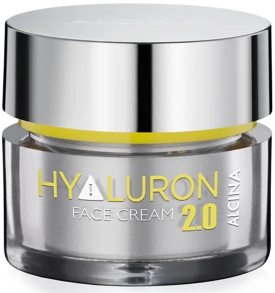 Krem do twarzy o działaniu odmładzającym - Alcina Hyaluron 2.0 Face Cream — фото N1