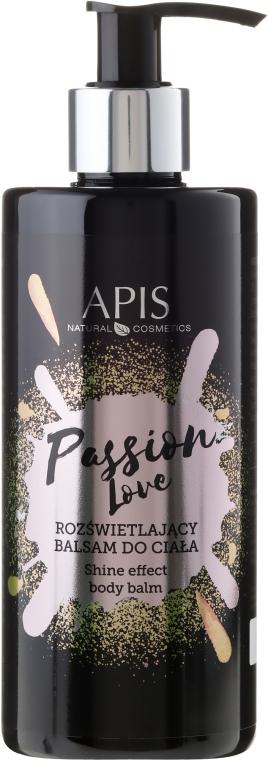 Rozświetlający balsam do ciała - APIS Professional Passion Love