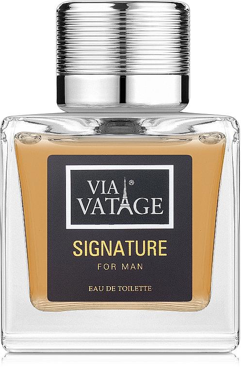 Via Vatage Signature - Woda toaletowa — фото N1