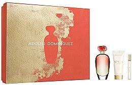 Kup Adolfo Dominguez Unica Coral - Zestaw (edt 100 ml + edt 10 ml + b/lot 75 ml)