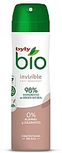 Kup Dezodorant w sprayu - Byly Bio Natural 0% Invisible Desdorant Spray