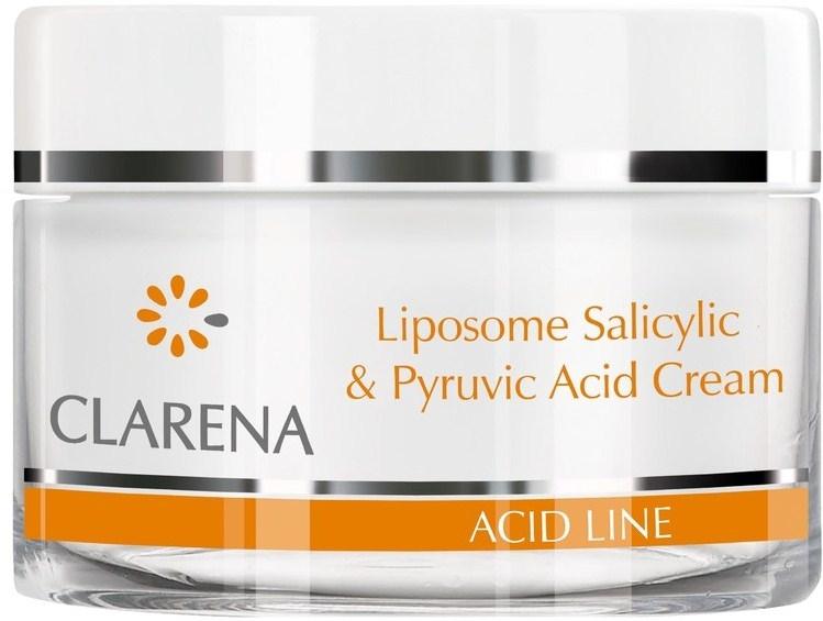 Przeciwtrądzikowy krem do twarzy z kwasem pirogronowym i salicylowym - Clarena Liposome Pyruvic Acid Salicylic & Cream