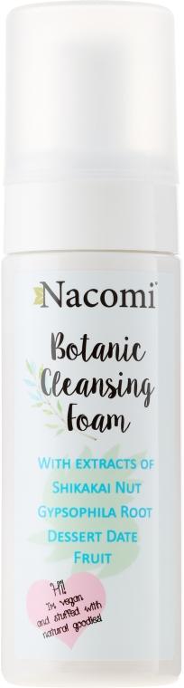 Botaniczna pianka myjąca do twarzy - Nacomi Botanic Cleansing Foam