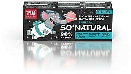 Bioaktywna naturalna pasta do zębów dla dzieci 6-11 lat Guma balonowa - SPLAT Junior Bubble Gum — фото N4