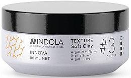Kup Matująca glinka do włosów - Indola Innova Texture Soft Clay
