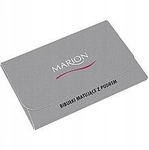 Kup Matujące chusteczki do twarzy, 50 szt. - Marion Mat Express Oil Control Paper