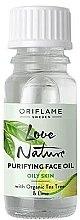 Kup Oczyszczający olejek do twarzy z organicznym drzewem herbacianym i limonką - Oriflame Love Nature Purifying Face Oil