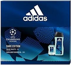 Kup Adidas UEFA Champions League Dare Edition - Zestaw (edt 50 ml + sh/gel 250 ml)