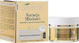 Kup Naprawczy krem przeciwzmarszczkowy do twarzy z ekstraktem ze śluzu ślimaka 80+ - Bielenda Kuracja młodości