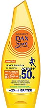 Kup Lekka emulsja do opalania SPF 50+ - Dax Sun Light Emulsion Active+