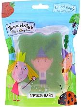 Kup Gąbka do kąpieli dla dzieci Ben and Holly, Ben, zielono-różowa - Suavipiel Ben & Holly Bath Sponge