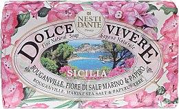 Kup Naturalne mydło w kostce Bungewilla, sól morska i papirus - Nesti Dante Dolce Vivere Sicilia