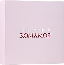 Laura Biagiotti Romamor - Zestaw (edt/25ml + edt/10ml) — фото N1