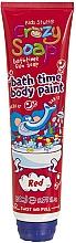 Kup Żel do kąpieli, koloryzujący ciało, czerwony - Kids Stuff Crazy Soap Bath Time Body Paint