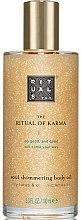 Kup Rozświetlający olejek do ciała Lotos i biała herbata - Rituals The Ritual of Karma Body Shimmer Oil