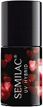 Kup Lakier hybrydowy do paznokci - Semilac Platinum UV Hybrid Valentine