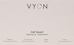 Kup Zestaw do pielęgnacji twarzy - Vyon Gell Guard Intensive Treatment (peel 10 ml + conc 7 ml + mask 25 g + finish 7 ml)