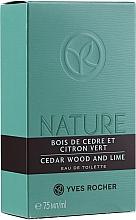 Kup PRZECENA! Yves Rocher Cedar Wood And Lime - Woda toaletowa*