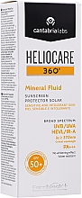 Przeciwsłoneczny mineralny fluid - Cantabria Labs Heliocare 360º Mineral Fluid SPF 50+ — фото N2