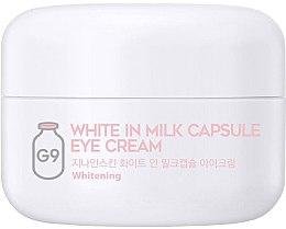 Kup Rozjaśniający krem pod oczy - G9Skin White In Milk Capsule Eye Cream