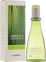 Kup Tonik odświeżający z ekstraktem z nowozelandzkiego lnu - The Saem Urban Eco Harakeke Fresh Toner