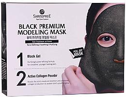 Kup PRZECENA! Oczyszczająca maska do twarzy zwężająca pory - Shangpree Black Premium Modeling Mask *
