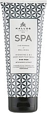 Szampon-żel pod prysznic 3 w 1 dla mężczyzn - Kallos Cosmetics Spa Hydrating 3in1 Body-Hair-Face Wash For Men — фото N1