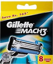 Kup Wymienne wkłady do maszynki, 8 szt. - Gillette Mach3