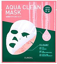 Kup Oczyszczająca maseczka w płachcie do twarzy - Elroel Aqua Clean Mask
