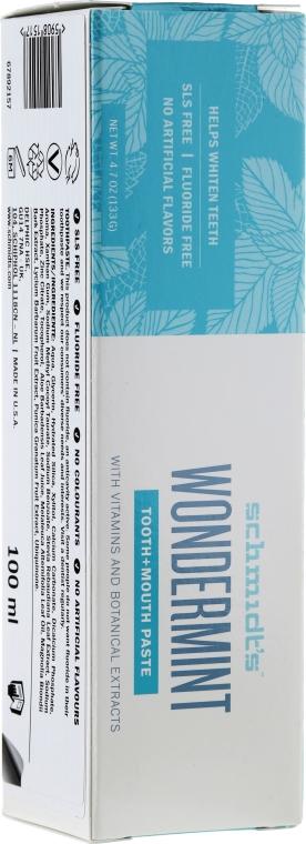 Zestaw - Schmidt's Blissful Discovery (t/paste 100 ml + deo 58 ml + soap 142 g + bag) — фото N7