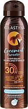 Kup Suchy olejek do opalania w mgiełce SPF 30 - Kolastyna Coconut Paradise