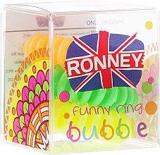 Kup Gumki do włosów S2 MET, średnica 3,5 cm, 3 szt. - Ronney Professional