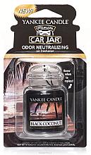 Kup Zapach do samochodu - Yankee Candle Car Jar Ultimate Black Coconut