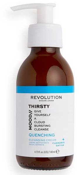 Delikatny krem oczyszczający do twarzy - Revolution Skincare Thirsty Mood Quenching Cleansing Cream — фото N1