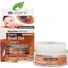 Kup Żelowy krem do twarzy z ekstraktem ze śluzu ślimaka - Dr. Organic Bioactive Skincare Snail Gel Cream