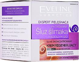Kup Intensywnie skoncentrowany krem regenerujący do twarzy - Eveline Cosmetics Skin Care Expert Snail Slime Filtrate + Coenzyme Q10 Cream