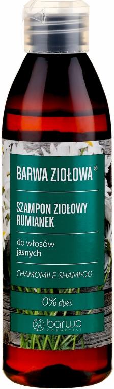 Szampon rumiankowy do włosów jasnych - Barwa Ziołowa