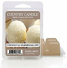 Kup Wosk zapachowy - Country Candle Coconut Marshmallow Wax Melts