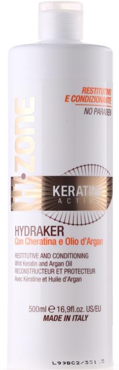 Odżywka do włosów z aktywną keratyną - H.Zone Keratine Active Conditioner — фото N1