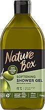 Kup Żel pod prysznic z tłoczoną na zimno oliwą z oliwek - Nature Box Softening Shower Gel With Cold Pressed Olive Oil